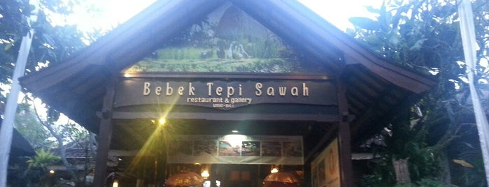 Bebek Tepi Sawah Restaurant & Villas is one of Bali's Best.