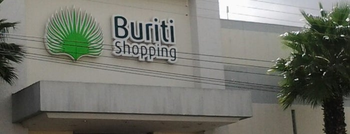 Buriti Shopping is one of Pontos Turisticos Essenciais Goiania.