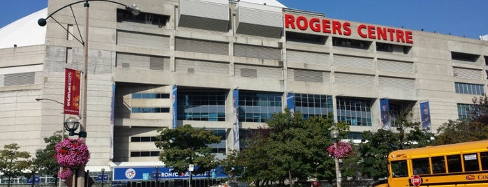 Rogers Centre is one of MLB.