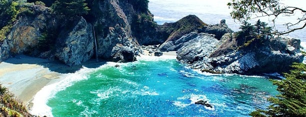 Pfeiffer Big Sur State Park is one of CA road trip.