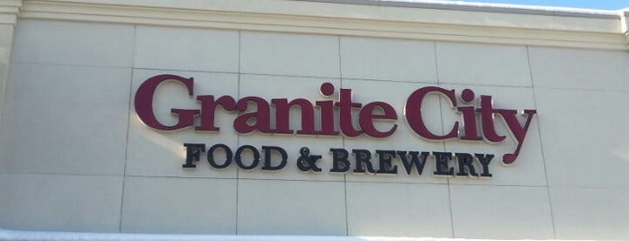 Granite City Food & Brewery is one of Breweries or Bust.