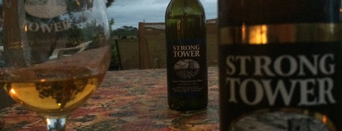 Strong Tower Vineyards is one of wine tasting.