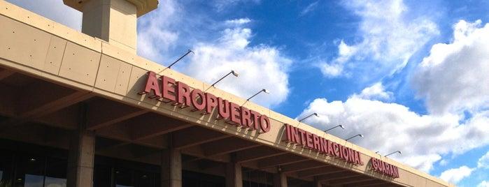 Aeropuerto Internacional Guaraní (AGT) is one of Aeropuertos del Mundo.