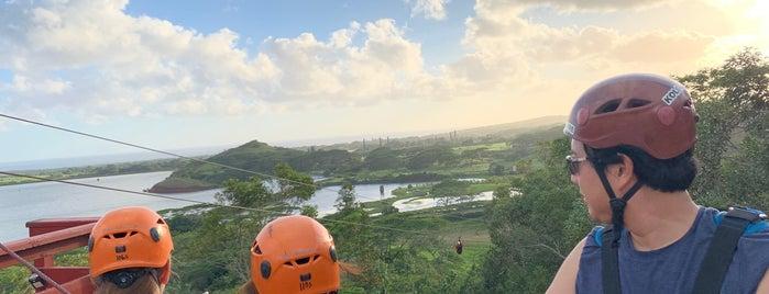 Koloa ATV and Zipline is one of Kauai.