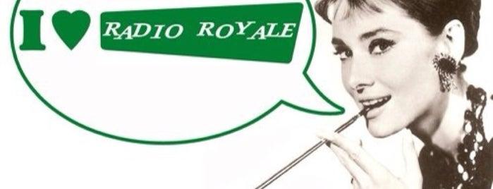 Radio Royale is one of Fabián'ın Beğendiği Mekanlar.