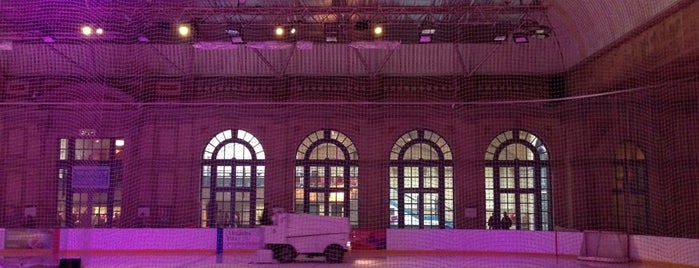 Alexandra Palace Ice Rink is one of 1000 Things To Do In London (pt 2).