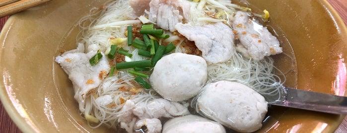 ก๋วยเตี๋ยวลูกชิ้น ถนัดศรี is one of Hat Yai.