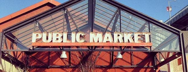 Granville Island Public Market is one of Favorite Spots in Vancouver.