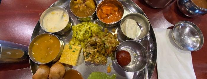 Thali Indian Vegetarian is one of Mandar : понравившиеся места.