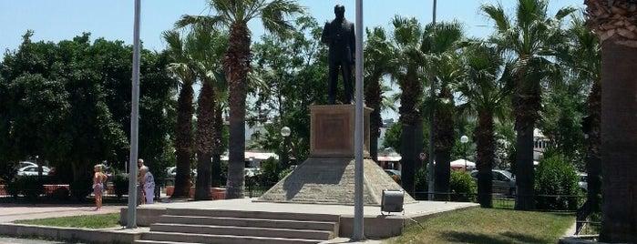 Atatürk Meydanı is one of Lugares favoritos de İbrahim.