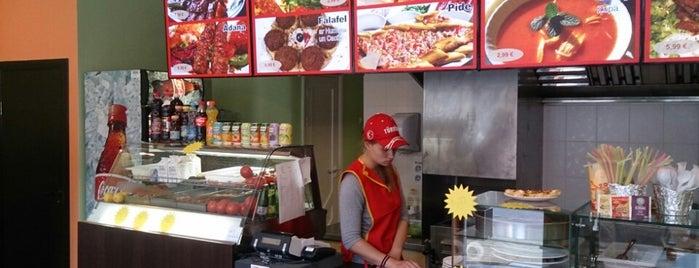 Stambulas Kebabi is one of Riga.