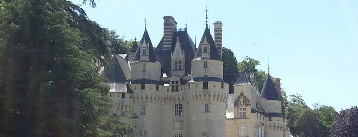 Château d'Ussé is one of Lugares favoritos de Kevin.