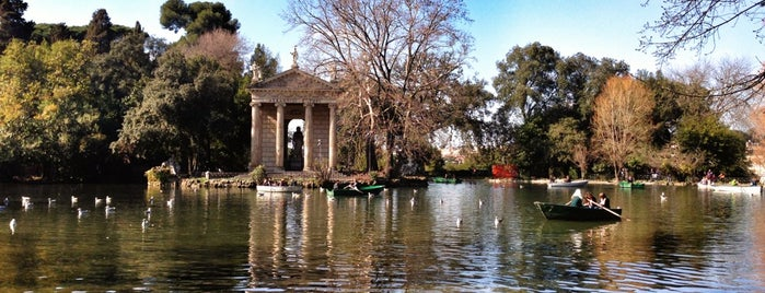 Villa Borghese is one of Rome by bell.