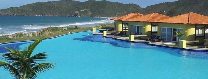 Hotel Búzios Beach Resort is one of Locais curtidos por Mariah_c.
