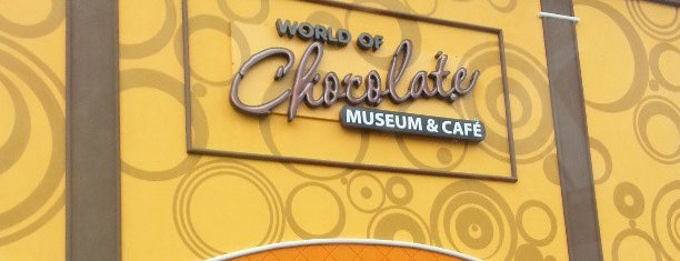 The World of Chocolate Museum is one of Posti che sono piaciuti a Frank.