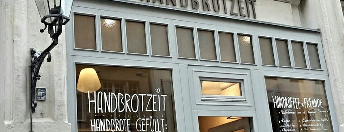 Handbrotzeit is one of Leipzig.