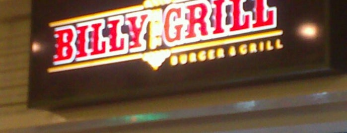 Billy The Grill is one of Lugares favoritos de Marcello Pereira.