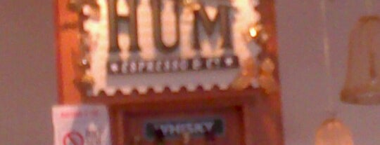 Café Hum is one of Lugares favoritos de Marcello Pereira.
