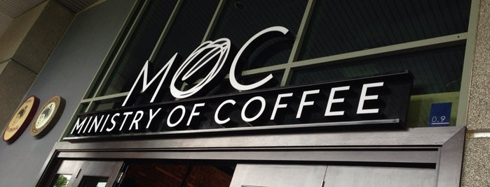Ministry of Coffee (MoC) is one of Kopi Places.