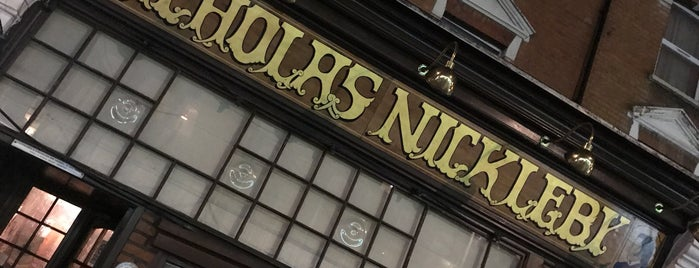 Nicholas Nickleby is one of crouch end.