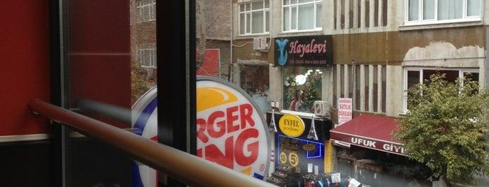 Burger King is one of Sevgi : понравившиеся места.