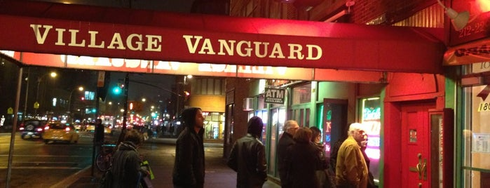 Village Vanguard is one of Performance Spaces.