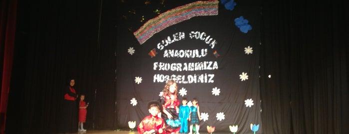 Yenimahalle Belediyesi 50.Yıl Dört Mevsim Tiyatro Salonu is one of Mustafa Efeさんのお気に入りスポット.