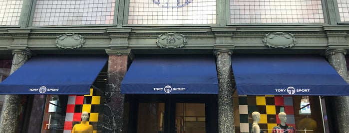 Tory Sport is one of The NYC Bucket List (2).