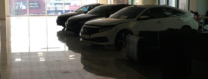 Honda&Nissan Park Otomotiv is one of สถานที่ที่ Eser Ozan ถูกใจ.