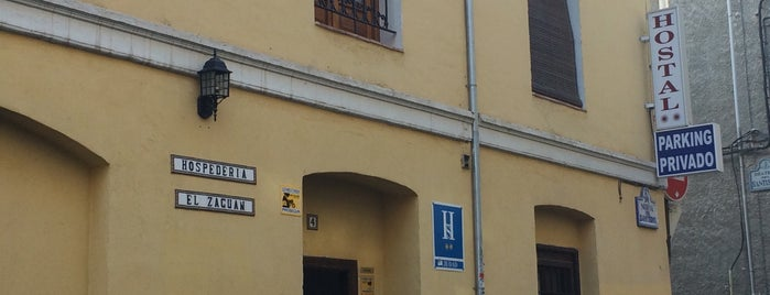 Hospedería El Zaguan is one of สถานที่ที่ Nico ถูกใจ.