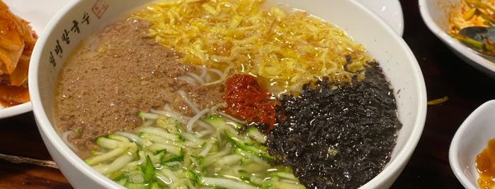 일미칼국수 is one of noodle.