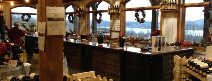 Keuka Spring Vineyards is one of Naples, NY.