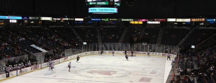 Times Union Center is one of sports arenas and stadiums.