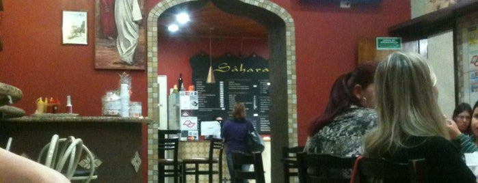 Sahara Comida Árabe is one of St. Rock.