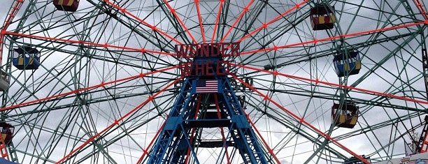 Deno's Wonder Wheel is one of Must-See Coney Island.