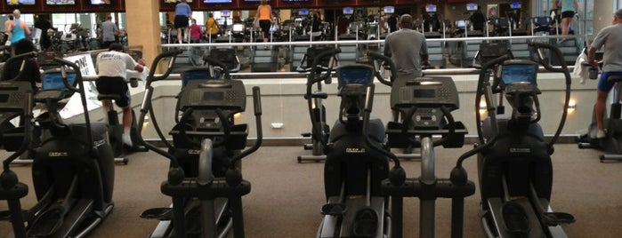 Life Time Fitness is one of สถานที่ที่ David ถูกใจ.