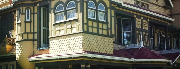 Winchester Mystery House is one of if you're ever in ____.