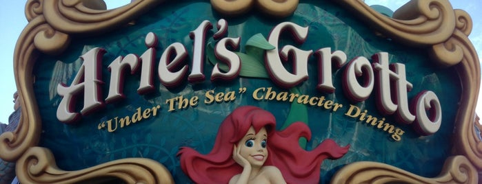 Ariel's Grotto is one of Favorite Food.