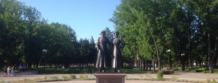 Памятник Славным сынам Отечества Казакам и Горцам, Героям Первой Мировой Войны is one of สถานที่ที่ Stanislav ถูกใจ.