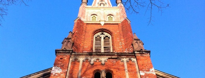 Anglikāņu Sv. Pestītāja baznīca is one of Locais curtidos por Carl.