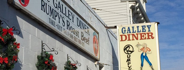 The Galley Diner is one of boston/cambridge.
