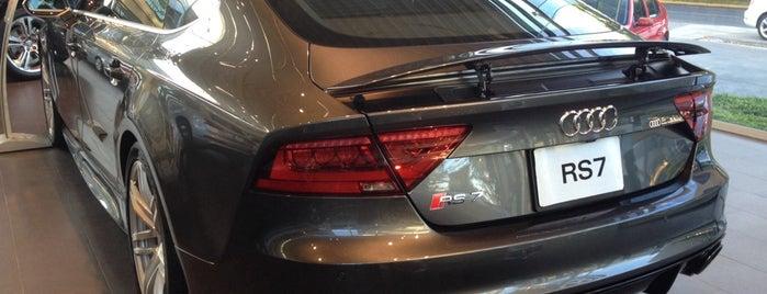 Audi is one of Orte, die Cesar gefallen.