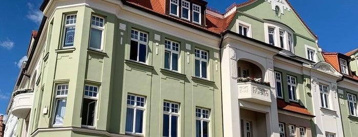 Rathaus Bergen auf Rügen is one of Oostzeekust 🇩🇪.