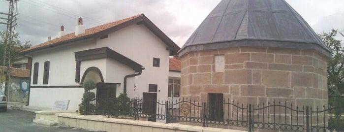 Ateşbâz-ı Velî Türbesi is one of Konya.