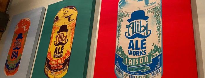 Alibi Ale Works Incline Public House is one of Locais curtidos por Guy.