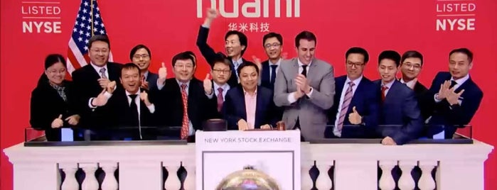Huami is one of Tech Startups.