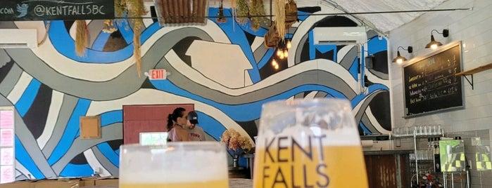 Kent Falls Brewing Company is one of Tempat yang Disukai Miguel.
