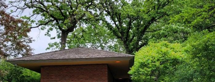 Malcolm Willey House by Frank Lloyd Wright is one of Frank Lloyd Wright.