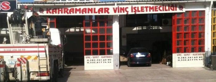 Tekirdağ Yeni Sanayi Sitesi is one of Çağlarさんのお気に入りスポット.