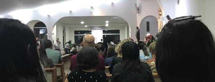 Igreja Nossa Senhora da Rosa Mistica is one of Locais curtidos por Caio.